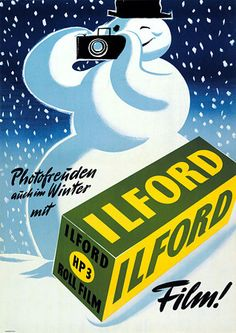 Ilford Vintage Poster