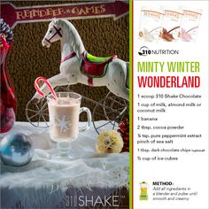 Minty Winter Wonderland #310Shake