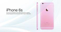 iPhone 6S será lanzado con Force Touch y en color Rosa