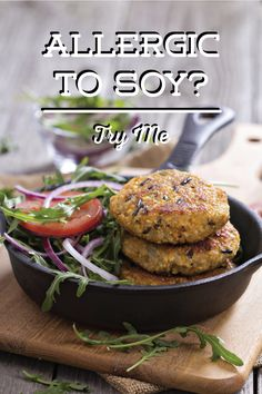 Have a soy allergy try this easy soy free recipe dont let allergic to soy try these soy free potato burgers dont let allergies forumfinder Choice Image