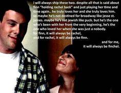 Glee - Finn  Rachel