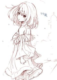 Anime - line drawing