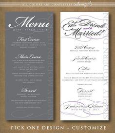 gold wedding menu cards wedding menu template gold printable menu