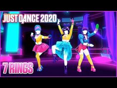 7 rings Just Dance 2020 Video Game Music, Music Videos, Dance Playlist, Bust A Move, Brain Breaks, Dance Moves, Just Dance, New Kids, Pop Music