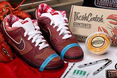 timeless design 71710 ab65d True to life lobster sneaks from Nike   Concepts. Classic SneakersBest  SneakersHigh Top SneakersSneakers NikeSneaker GamesSneaker HeadsNike Sb  DunksRed ...