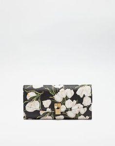 CARTERA CONTINENTAL DE PIEL DAUPHINE ESTAMPADA  - Billeteras - Dolce&Gabbana - Invierno 2016