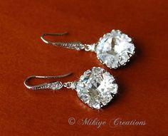 Chandelier Swarovski Crystal Earrings $35