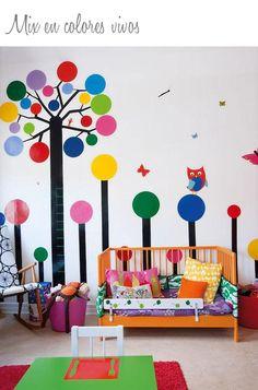 Como decorar una habitación compartida larga y estrecha   Decorar tu casa es facilisimo.com