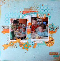 Tyoma's 2nd Birthday - Scrapbook.com