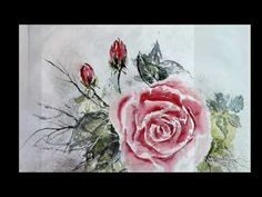 Paintings in watercolour and acrylic