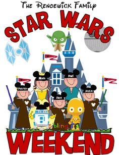 Star Wars Weekend Family shirt