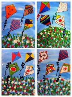 VOLADA D'ESTELS   Plastiquem   Bloglovin' Spring Art, Summer Art, Fun Arts And Crafts, Crafts For Kids, Painting For Kids, Art For Kids, Kindergarten Art Activities, Monkey Crafts, Spring Projects