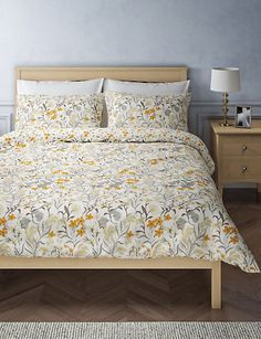 Daisy Floral Bedding Set Floral Bedding, Loft Furniture, Furniture Shop, Bed, Floral Print Bedding, Floral Bedding Sets, Bedding Shop, Home Decor, Home Furnishings