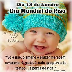 Maria Lopes e Artes: Dia 18 de Janeiro Dia Mundial do RIso.