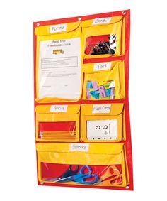 Take a look at this Educational Insights Off-the-Wall Storage Chart by Educational Resources Collection on #zulily today!