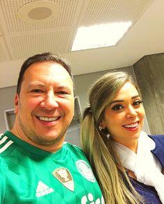 Hoje foi dia de Palmeiras!!!!!! E não é que vc dá sorte @moniquesantangelo !!!!!  #lider #campeaoprimeiroturno #verdao