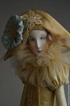 Коллекционные куклы ручной работы. Ярмарка Мастеров - ручная работа. Купить Авторская кукла Алиса. Handmade. Лимонный, кукла на заказ