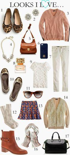 CHIC COASTAL LIVING: Looks I Love... fall fashion