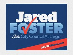 Foster for city council logo