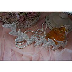 Handgemaakte Ontwerp van het Blad strass bruiloft / speciale Occation Bloem / Hoofdbanden – EUR € 20.62