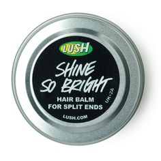 Shine so bright hair balm Lush Cosmetics, Handmade Cosmetics, Lush Store, Split Ends Hair, Hair Balm, Lush Fresh, Lush Products, Beauty Products, Hair Products