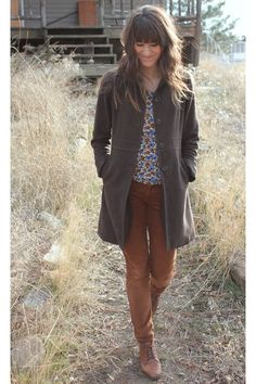 What To Wear With Brown Corduroy Pants Brown corduroy bella dahl