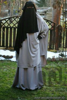Beautiful Black Niqab And Jilbab With A Light Yellow Abaya Under Niqab Womens Pinterest