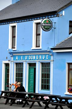 Galway, Ireland: why go to Ireland to drink a Heinie? Guiness!