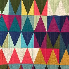 "Beautiful ""Diamonds Quilt #2"" by Tara Faughnan."