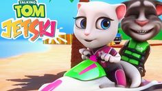 My Talking Tom Jetski Android Gameplay - best mobile games 2017