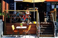 An Italian chef, a sunny deck and the best budget breakfast and lunch in Brisbane are found at Milton gem Two Wheels and a Handlebar. Italian Donuts, Italian Chef, Breakfast On A Budget, Breakfast Menu, Pork Leg, Beef Ribs, Confit Duck Leg, Brisbane Cafe, Coleslaw Sandwich