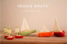 These salad boats are beautiful, easy, fun and nutritious. They are also a great way to engage your children in the kitchen.  Check out--> http://wonderfuldiy.com/wonderful-diy-salad-boats-food-art/ #diy #foodart