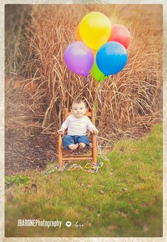Happy First Birthday Aiden! – JBARONE Photography St Charles Children's Photographer » JBarone Photography...but in my first rocking chair Aunt Karen has :)
