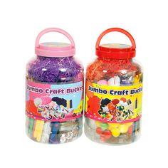Jumbo Craft Set image-0 Buy Toys, Toys Shop, Kids Toys Online, Christmas 2015, Creative, Crafts, Bucket, Image, Manualidades