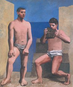 Pablo Picasso The Pipes of Pan  1923