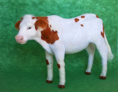Needle felted Cow by Sofakitty on DeviantArt