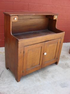 American Antique Furniture American Antique Dry Sink Antique Kitchen Cabinet