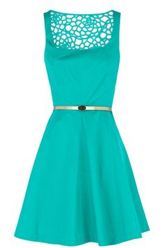 Florence turquoise Dress