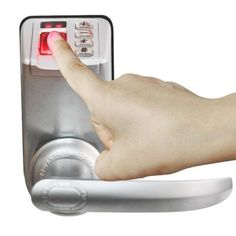 This is a Great Security Device for Your Business - Adel LED Display Keyless Biometric Fingerprint Door Lock Trinity 788