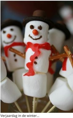 Birthday idea for the winter! (Via welke.nl)