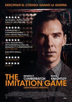 'The Imitation Game' dirigida por  Morten Tyldum y protagonizada por Benedict Cumberbatch es uno de los film nominados en los Critic´s Choice Awards en las categorías de Mejor película, Mejor actor y Mejor guión adaptado.