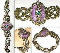 Gothic style Suffragette bracelet