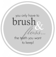 Brush and Floss Tag B