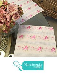 Floral cotton placemat. handmade placemat. Cotton Handmade Placemats from placemats by a Belle Life http://www.amazon.com/dp/B016XW82VM/ref=hnd_sw_r_pi_dp_102jwb03QDD2Y #handmadeatamazon