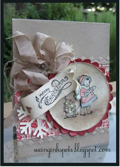 Stampin' Up! Christmas  by Elizabeth Price at Seeing Ink Spots: Vintage Chic
