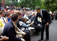 All the president's fist bumps. (Well, an assortment, at least: TPM has a gallery. Black Presidents, Greatest Presidents, 2008 World Series, Barack Obama Family, First Black President, Fist Bump, Religious People, First Daughter, Godly Man