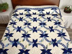 Double Wedding Ring Quilt | quilts i want to make | Pinterest ...