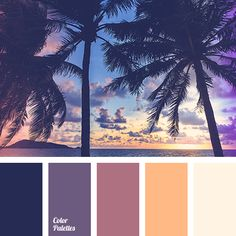 color combination, color of purple sunset, color of sunset on the lake, color of tea rose, light yellow color, lilac shades, pale yellow color, purple color