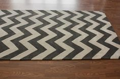 Meridian Chevron Rug - I want. Though it doesn't match anything I own.