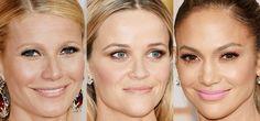 Maquiagem Oscar 2015 Gwyneth Paltrow, Reese Witherspoon, Jennifer Lopez.